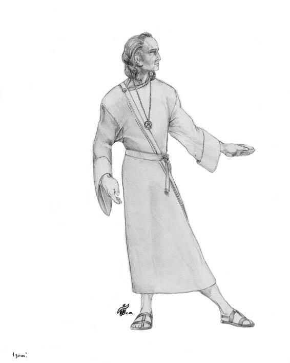High Seer Stralim Character Sketch