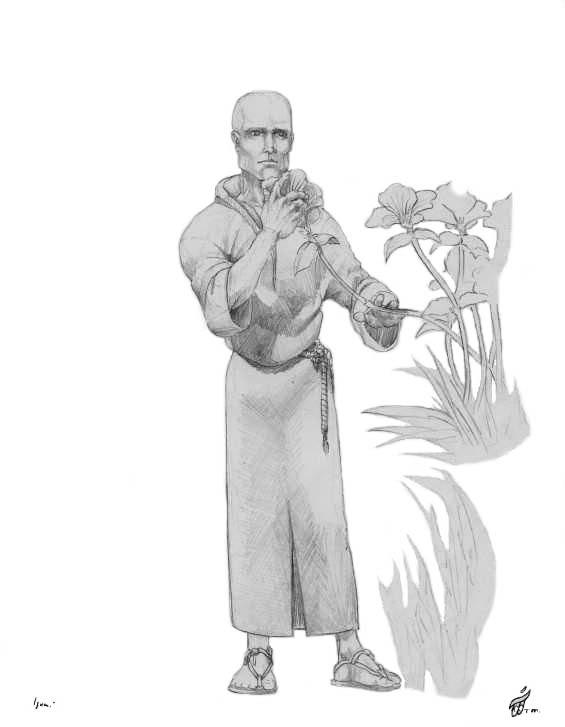 Master Lumiera Character Sketch