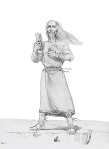 Master Nim Character Sketch and Scene - Gallery Illustrations Classic View