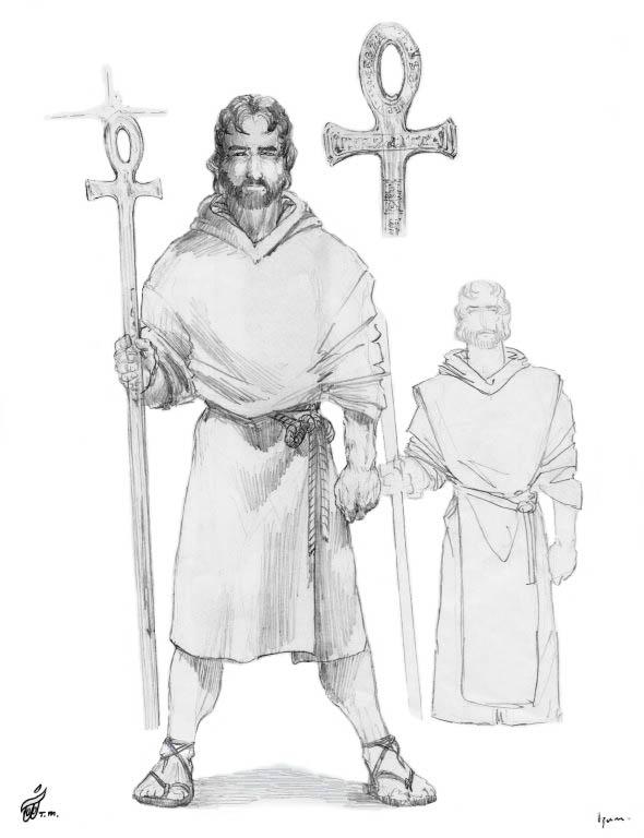 Master Ra Mu Character Sketches