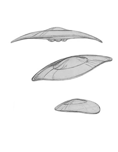Sen Dar's Scout Class Interceptor Sketches - Gallery Illustrations Classic View