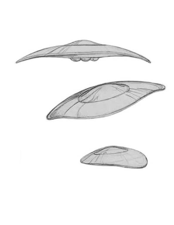 Sen Dar's Scout Class Interceptor Sketches