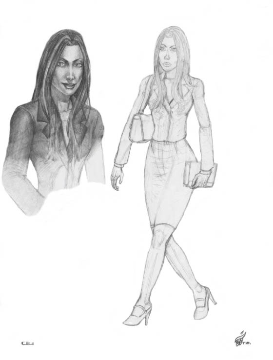 Senator Judith Cranston Character Sketches