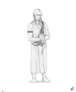 Trebor Character Sketch - Gallery Illustrations Classic View