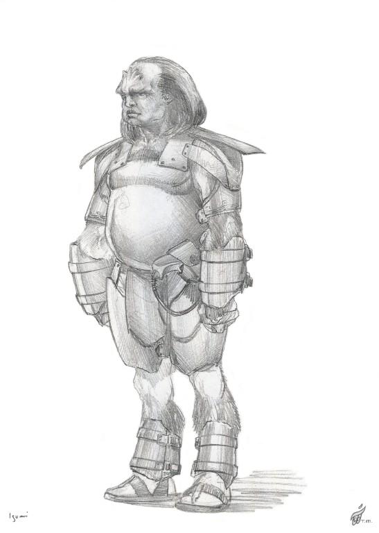 Gorn Character Sketch