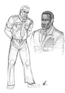 General Harry Faldwell Character Sketches - Gallery Illustrations Classic View