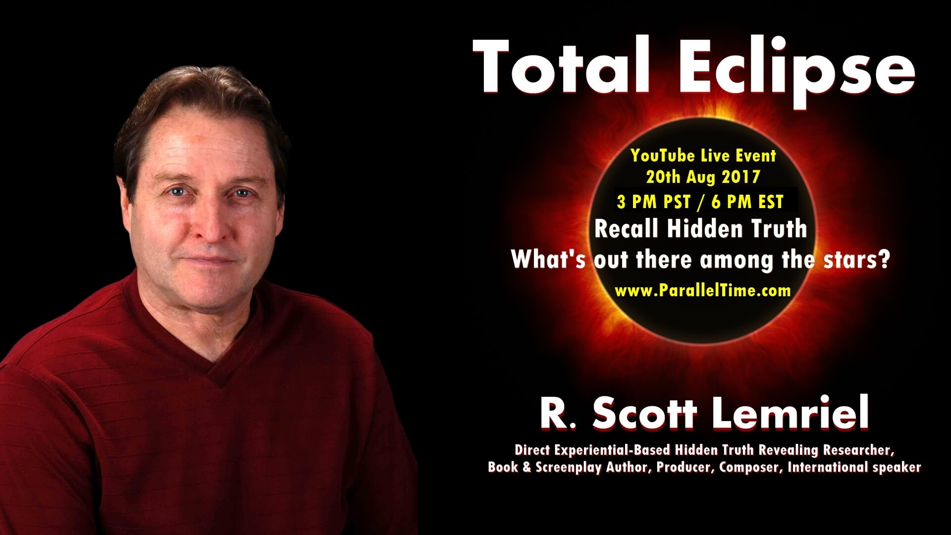 Solar Eclipse - Recall Hidden Truth - What's Among The Stars