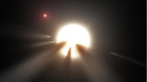 Comet's Collision