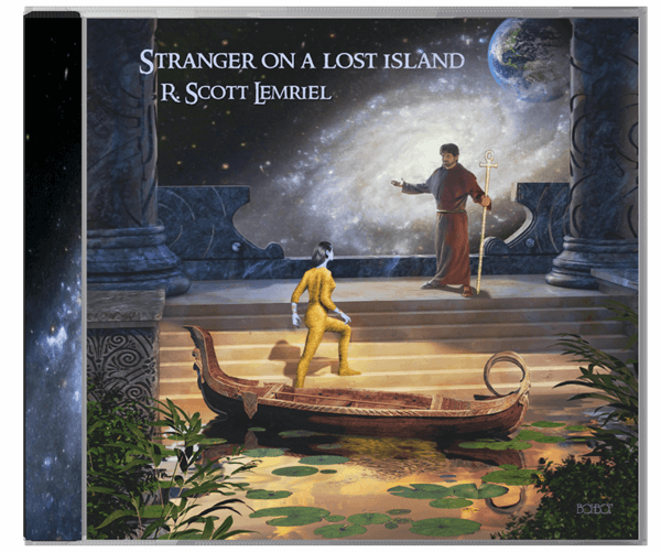Stranger on a Lost Island music CD